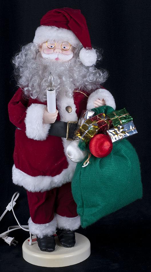 Santa Claus Toys : Vtg s holiday classics quot animated santa claus