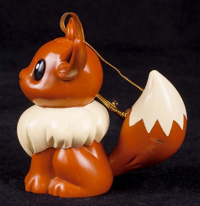 nintendo 1999 eevee christmas ornament pokemon vtg